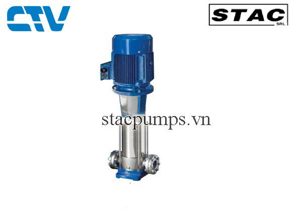 Máy bơm nước trục đứng đa tầng cánh Inox Stac VS
