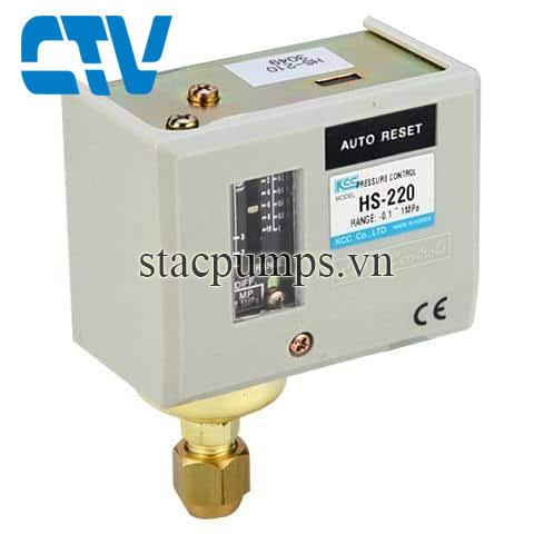 Công tắc áp suất Relay HS 220
