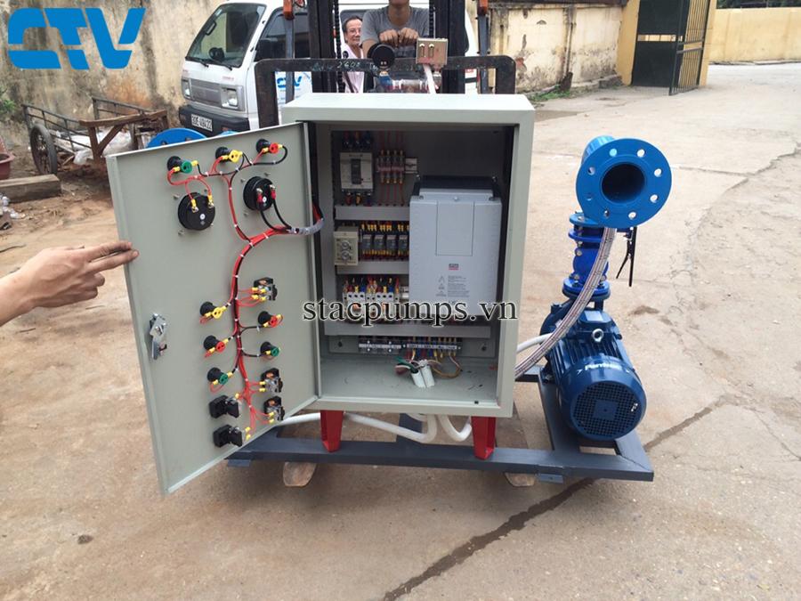 Tủ điện điều khiển hệ thống máy bơm tăng áp