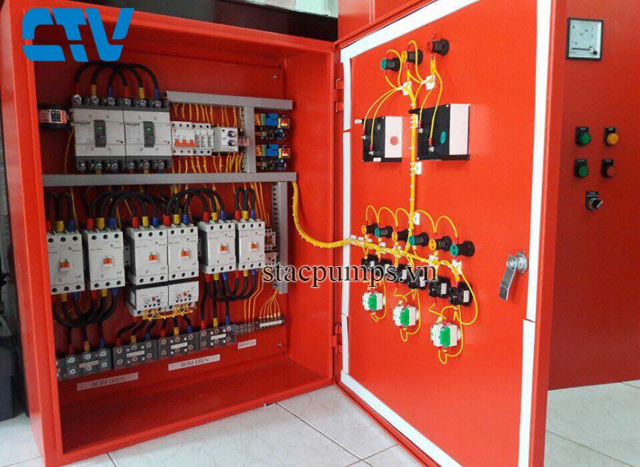 Cường Thịnh Vương cung cấp, thiết kế, lắp đặt tủ điện cho hệ thống máy bơm phòng cháy chữa cháy