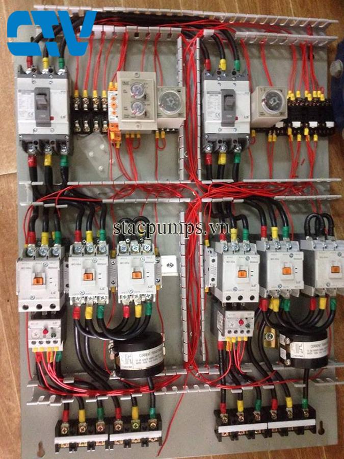 Đơn vị chuyên thiết kế, lắp đặt tủ điện điều khiển hệ thống máy bơm cấp nước cho các tòa nhà cao tầng